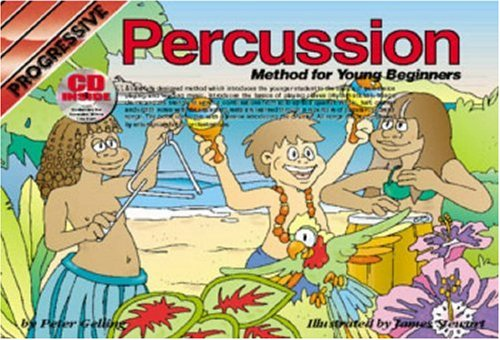 CP69142 - Progressive Percussion Method For Young Beginners Book/CD (Progressive Young Beginners)