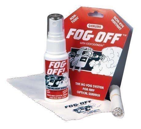 FOG-OFF Anti-fog Spray & Dry Cloth - Perfect extreme winter gear for Ski & Snowboarding Goggles, Scuba, Swim goggles all your optic - Glasses For Anti Fog Cloth