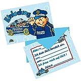Lutz Mauder Lutz mauder25825Police Einladung Karten Set