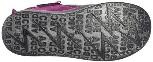 XTI Botin Niña Textil Combinado Fucsia, Zapatillas Altas para Niñas FUCSIA