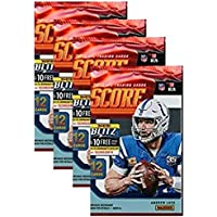 $21 » Universal Specialties 2019 Score NFL Football Four (4) Factory Sealed Packs with 12 Cards Each!