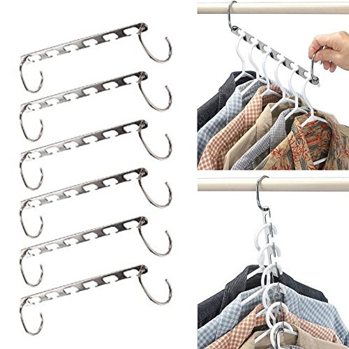 Stainless Steel Clip Stand Hanger Pants Skirt Kid Clothes Adjustable Pinch Grip Save Space Clothing Organizer