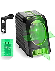 Huepar Laser Level Self-Leveling 150ft/45m Outdoor Cross Line Laser, Selectable Laser Lines with Pulse Mode,Level with Vertical Beam Spread Covers of 150°,360°Magnetic Base and Battery Included -BOX-1G