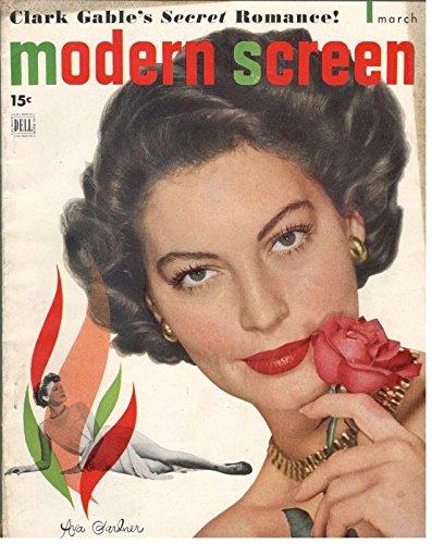 Modern Screen Magazine,Ava Gardner,March 1949