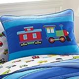 Olive Kids Trains, Planes, Trucks Light Weight Twin Comforter Set