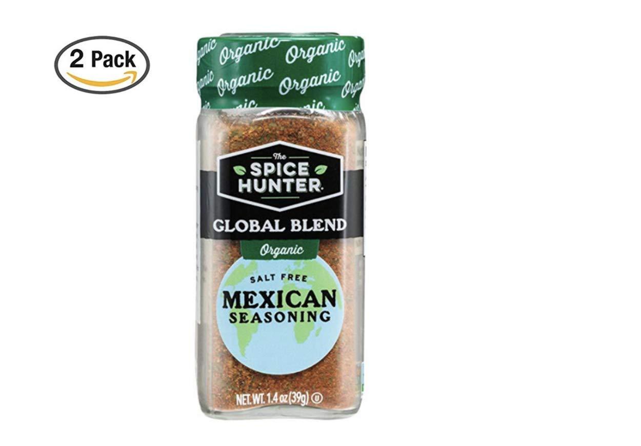 The Spice Hunter Organic Mexican Seasoning Blend, 1.4 oz. jar (2 Pack)