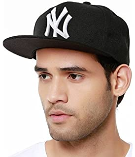 1ee4b789795 Drunken Men s Cotton Snapback Cap (Black Free Size)  Amazon.in ...