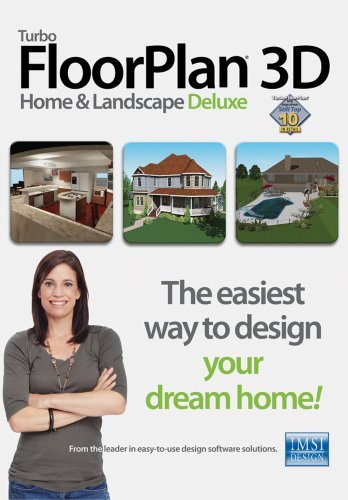 TurboFloorPlan 3D Home & Landscape Deluxe v17 [Download] by IMSI/Design