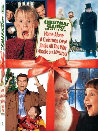 Christmas Classics Box Set (Miracle on 34th Street / Jingle All the Way / Home Alone / A Christmas Carol) (Home Alone Dvd 1)