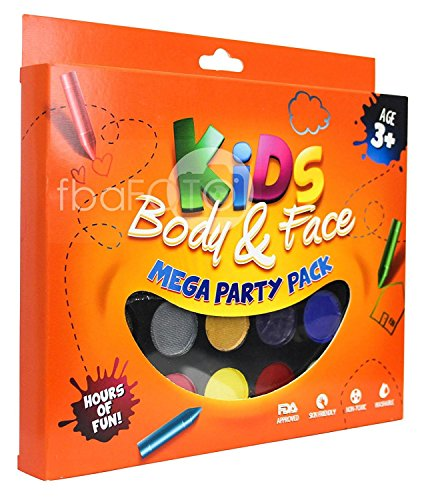 Face Paint Kit (Halloween Face Paint Ideas For Adults)