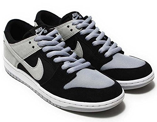 Nike Air Dunk Low (NIKE SB Zoom Dunk Low Pro mens skateboarding-shoes 854866-001_7.5 - Black/Wolf Grey-White-White)