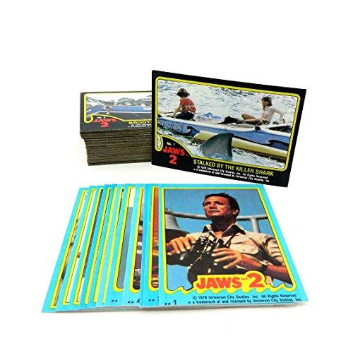 1978 Topps JAWS 2 Trading Card Set (59) w/Sticker Set