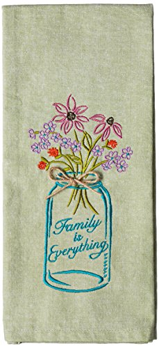 Kay Dee Designs F0749 Family Recipe Embroidered Towel