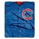 Chicago Cubs 50''x60'' Royal Plush Raschel Throw Blanket - Jersey Design