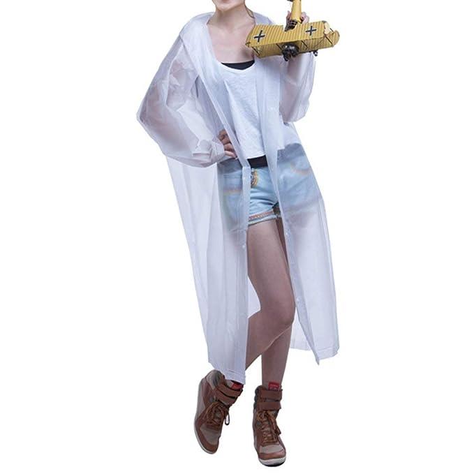 Chubasquero Poncho Adulto Elegante Primavera Moda Casual Tallas Grandes Poncho Encapuchado Fashion Manga Larga Color Sólido Impermeable Respirable Outdoor ...
