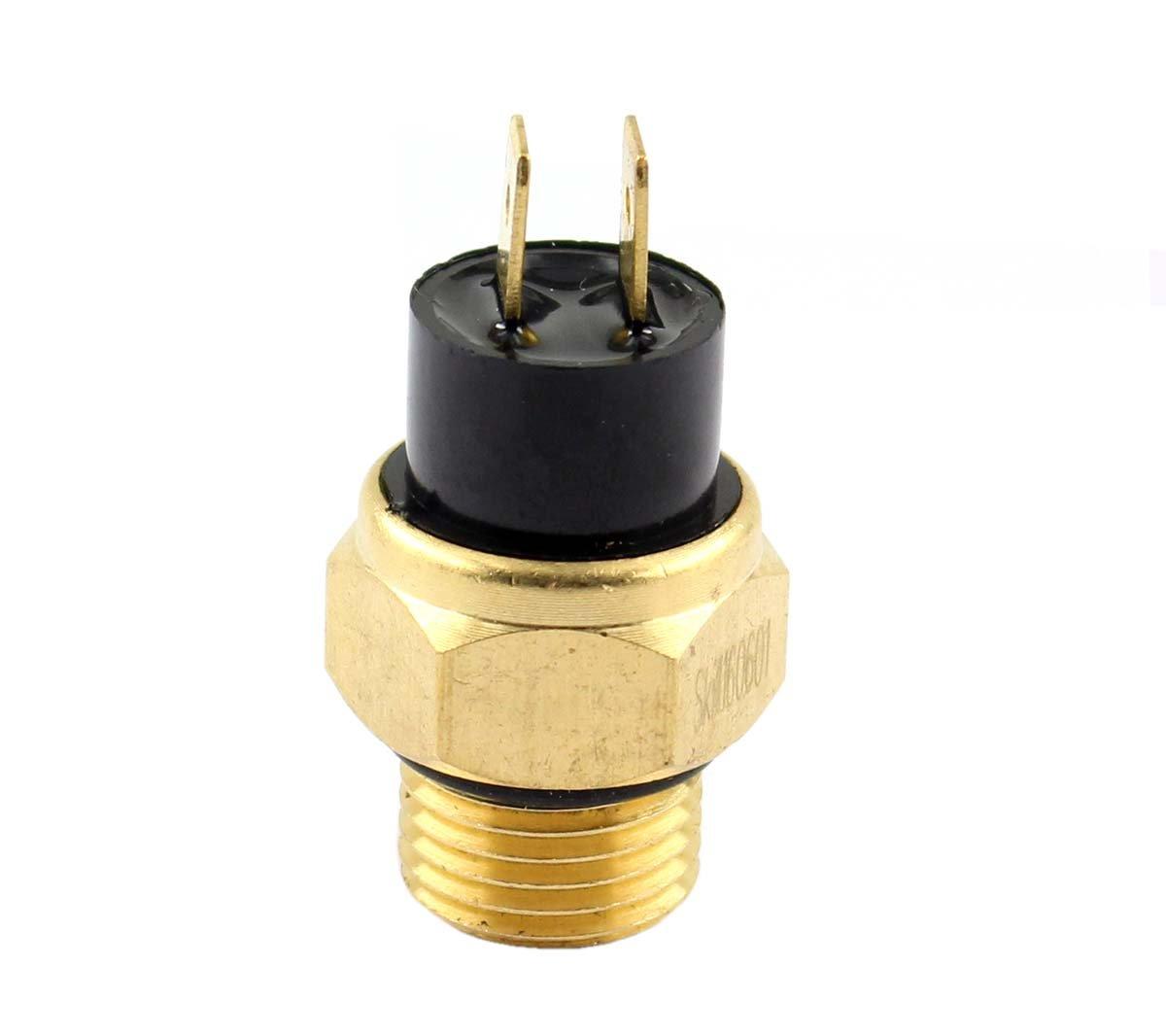 XtremeAmazing Radiator Cooling Fan Thermostat Switch For Honda VF1100C VF1100S VF700 VF500F