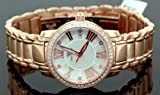 Ladies Classic Diamond Aqua Master Watch Rose w319b