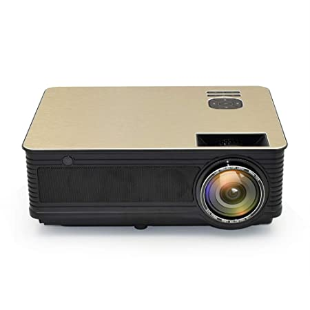 YSCCSY Proyector HD 4000 lúmenes Android 6.0 WiFi Bluetooth ...