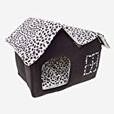 Yoshioe Luxury High End Double Pet House Dog Cat Little House Bed Pets Coffee Review