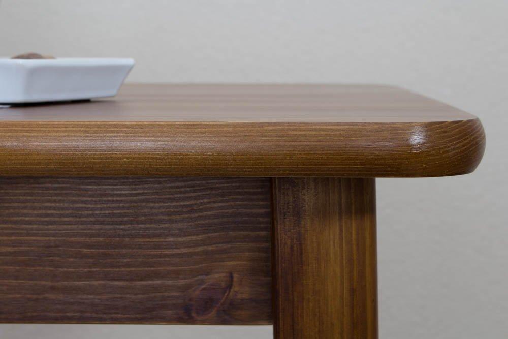 Table en bois massif 80 x 50 cm  Amazon.fr  Bricolage 2f5879cd50dc