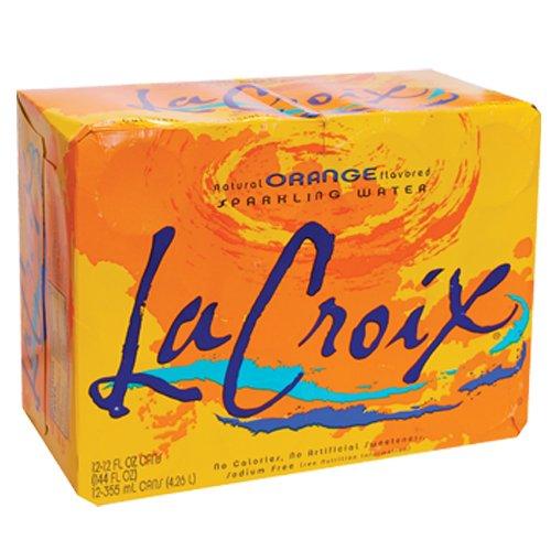 La Croix Sparkling Water, Orange, 12 Ounce (Pack of 12)