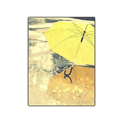 """Paraguas personalizados (1) manta de forro polar 40 """"(W) X"""