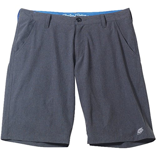 Troy Lee Designs Mens LCQ Crossover Walkshorts Size 30 Graphite by Troy Lee Designs