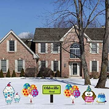 VictoryStore Yard Sign Outdoor Lawn Decorations Birthday CardsquotOLDSVILLE Ahead