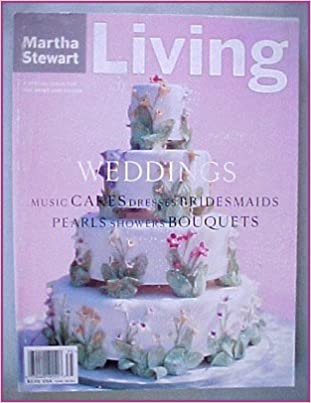 Martha Stewart Living Weddings Winter Spring 1997 Amazon Books