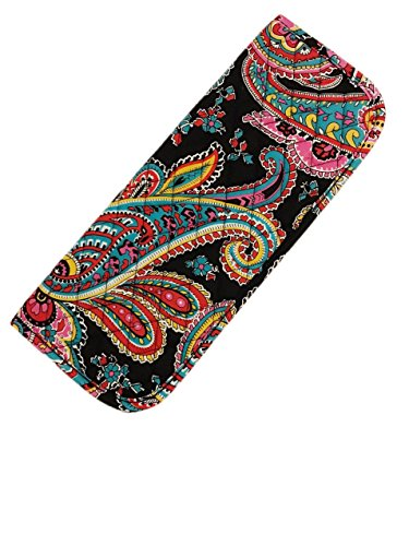 Vera Bradley Curling & Flat Iron Cover (Black, Pink)