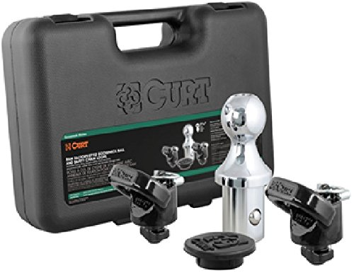 (CURT 60618 Gooseneck Ball and Safety Chain Anchor Kits for Dodge Ram)
