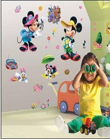 Adesivi murali topolino 3d bambini, , ragazzo & piccola ...