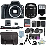 Canon EOS Rebel SL2 Bundle With EF-S 18-55mm f/4-5.6 IS STM Lens + Canon SL2 Camera Deluxe Accessory Kit - Canon SL2 Bundle Includes EVERYTHING You Need To Get Started