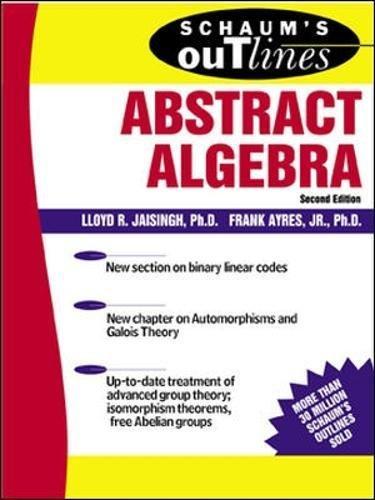 Pdf schaums algebra outlines linear