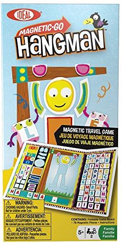 Ideal Magnetic Hangman Travel Game