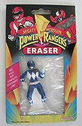 Mighty Morphin Power Rangers Eraser Blue Ranger
