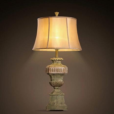 Wddwarmhome Lámpara de mesa lámpara de escritorio Resina ...