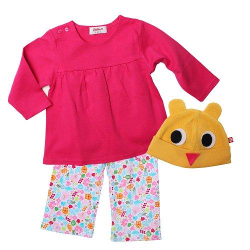 [Zutano Baby Girls' Owl Costume Crafting Set, Multi, 12 Months] (Peasant Halloween Costumes)