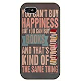 iPhone 5 / 5s You can't buy happiness but you can buy books - black plastic case / Inspirational and motivational
