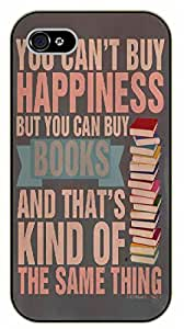 iPhone 5C You can't buy happiness but you can buy books - black plastic case / Inspirational and motivational