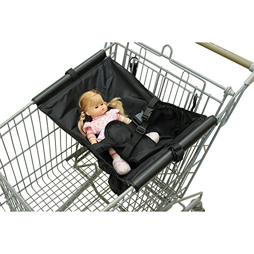Baby Shopping Cart Hammock Comfortable Safe Infant Airplane Seat Air Travel with Baby Made Easy for Baby Toddler and Twins (Black) from Mumianjia