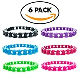 Bike Chain Bracelet for Kids | 6 Piece Set
