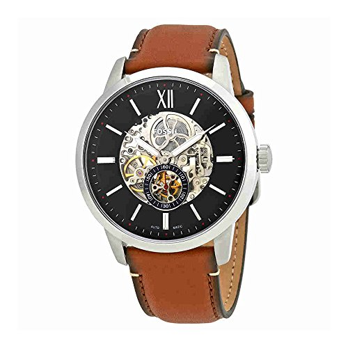 Fossil Townsman Skeleton Dial Automatic Mens Watch ME3154 ()