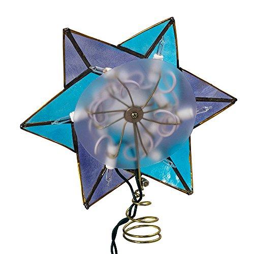 Kurt Adler 10-Light Star of David Capiz Colored Christmas Treetop, 8.5-Inch by Kurt Adler (Image #4)