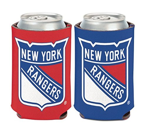 2-Sided Can Coolers WinCraft NHL New York Rangers 2 Pack 12 oz