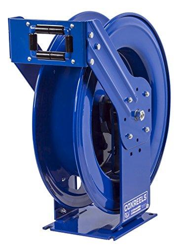 Spring Reel Rewind (Coxreels EZ-TSHL-4100 Safety Series Spring Rewind Hose Reel for air/water/oil: 1/2