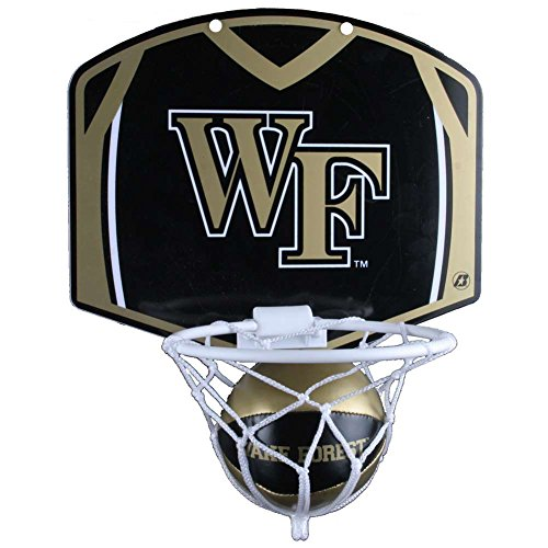 Wake Forest Demon Deacons Mini Basketball And Hoop Set (Forest Mini Wake)