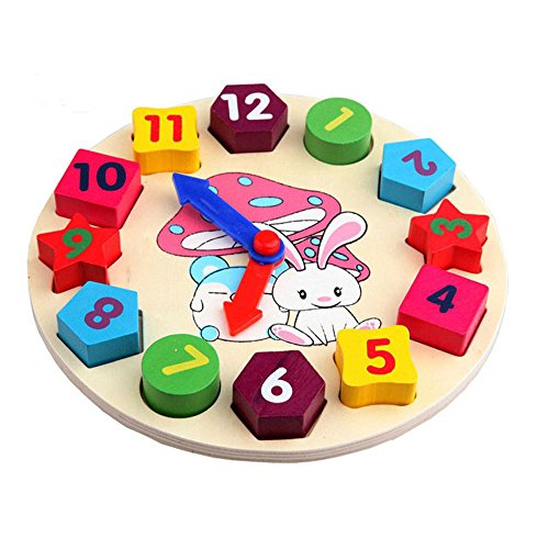 wooden kids digital geometry Clock educational toys building - Muppet Babies Dvd Box Set