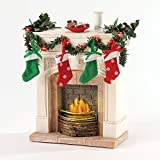 Department 56 Possible Dreams Accessories Lit Fireplace