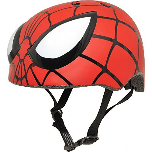 Spider Man Child Helmet (Marvel Avengers Spider-Man Bike Helmet, Best for kids)